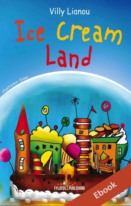 ebook Ice cream land Eξώφυλλο